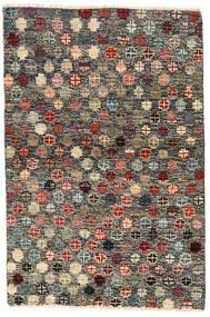 Moroccan Berber - Afghanistan Szőnyeg 116X177 Modern Csomózású Sötétszürke/Fekete (Gyapjú, Afganisztán)