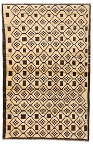 Moroccan Berber - Afghanistan Szőnyeg 110X173 Modern Csomózású Bézs/Sötétbarna/Sötét Bézs (Gyapjú, Afganisztán)