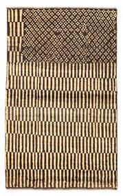 Moroccan Berber - Afghanistan Szőnyeg 89X147 Modern Csomózású Sötétpiros/Bézs (Gyapjú, Afganisztán)