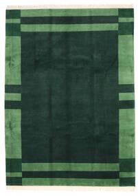 Gabbeh Indiai Szőnyeg 248X343 Modern Csomózású Sötét Turquoise/Sötétzöld (Gyapjú, India)