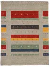 Loribaf Loom Szőnyeg 177X242 Modern Csomózású Világosszürke/Sötétszürke (Gyapjú, India)