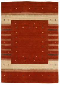 Loribaf Loom Szőnyeg 167X240 Modern Csomózású Rozsdaszín/Sötétpiros (Gyapjú, India)