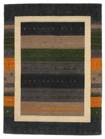 Loribaf Loom Szőnyeg 178X242 Modern Csomózású Sötétszürke/Világosbarna (Gyapjú, India)