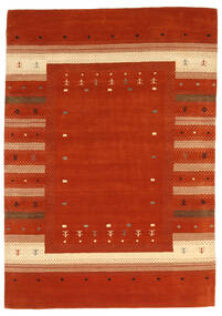 Loribaf Loom Szőnyeg 165X235 Modern Csomózású Rozsdaszín/Piros (Gyapjú, India)