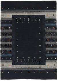 Loribaf Loom Szőnyeg 165X243 Modern Csomózású Sötétkék/Sötétszürke (Gyapjú, India)