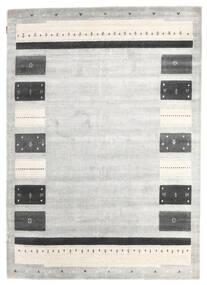 Loribaf Loom Szőnyeg 167X235 Modern Csomózású Világosszürke/Sötét Bézs (Gyapjú, India)