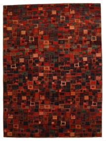 Gabbeh Loribaft Szőnyeg 260X351 Modern Csomózású Sötétpiros/Piros Nagy (Gyapjú, India)
