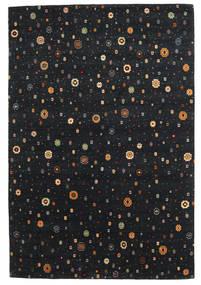 Loribaf Loom Szőnyeg 169X238 Modern Csomózású Fekete (Gyapjú, India)