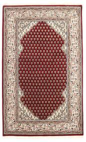 Mir Indiai Szőnyeg 95X155 Keleti Csomózású Bézs/Sötétbarna (Gyapjú, India)