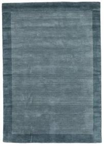 Handloom Frame - Petrol Kék Szőnyeg 160X230 Modern Kék (Gyapjú, India)