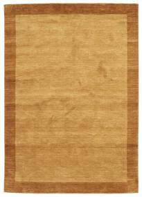 Handloom Frame - Arany Szőnyeg 160X230 Modern Világosbarna/Barna (Gyapjú, India)