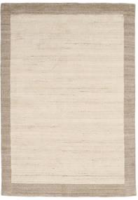 Handloom Frame - Natural/Sand Szőnyeg 160X230 Modern Bézs/Világosszürke (Gyapjú, India)