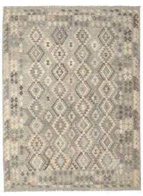 Kilim Afgán Old Style Szőnyeg 183X240 Keleti Kézi Szövésű Sötétszürke/Olívazöld (Gyapjú, Afganisztán)
