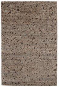 Gabbeh Loribaft Szőnyeg 199X305 Modern Csomózású Sötétbarna/Fekete (Gyapjú, India)