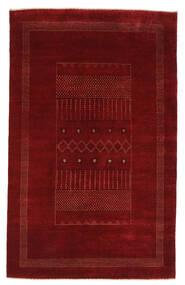 Gabbeh Loribaft Szőnyeg 159X254 Modern Csomózású Fekete/Bézs/Krém (Gyapjú, India)
