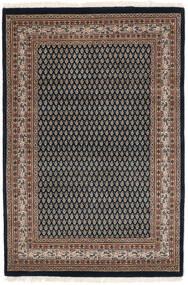 Mir Indiai Szőnyeg 125X183 Keleti Csomózású Fekete/Sötétbarna (Gyapjú, India)