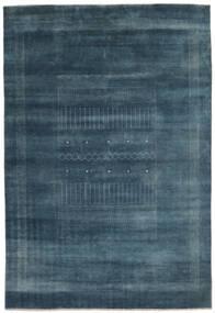 Gabbeh Loribaft Szőnyeg 192X278 Modern Csomózású Fekete/Sötétkék (Gyapjú, India)