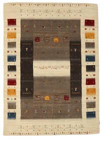 Loribaf Loom Szőnyeg 170X237 Modern Csomózású Sötétbarna/Világosbarna (Gyapjú, India)