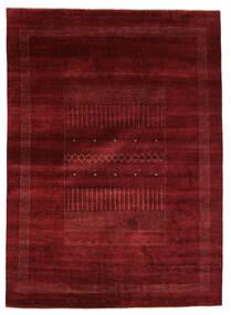 Gabbeh Loribaft Szőnyeg 205X284 Modern Csomózású Fekete/Bézs (Gyapjú, India)
